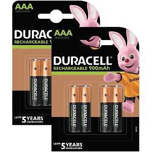 Duracell AAA 800mAh PreCharged balení 8