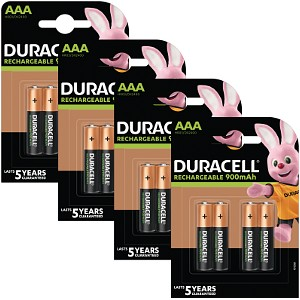 Duracell AAA 800mAh PreCharged balení 16