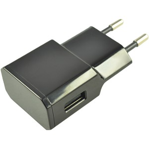 2A Single Port USB Charger (EU) - Black