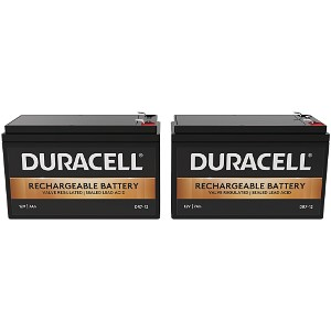 Duracell Dual 12V 7Ah Battery Kit