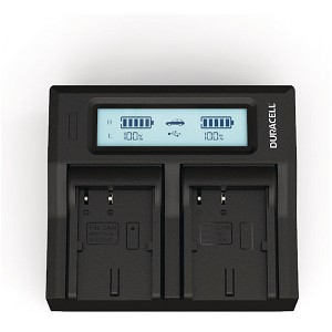 DM-MV30 Canon BP-511 Dual Battery Charger