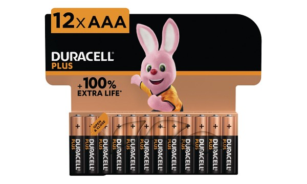 Duracell Plus AAA 12 Pack