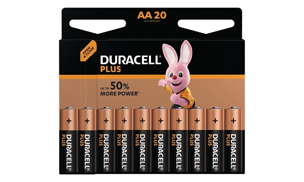 Duracell Plus AA 20 Pack
